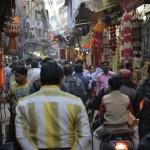 miejskie życie czyli dzień pierwszy w delhi